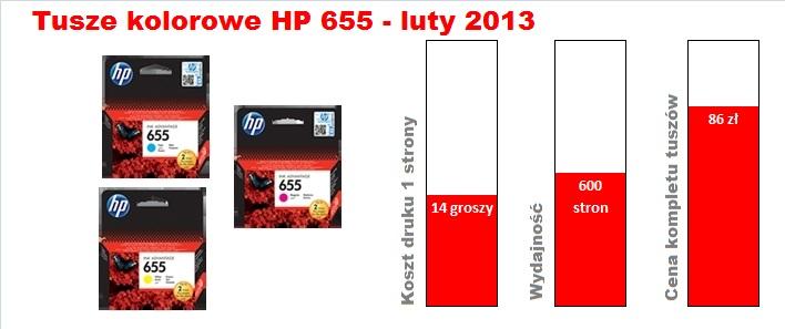 HP 655 kolor 201302