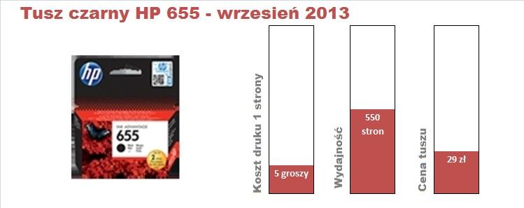 HP 655 czarny